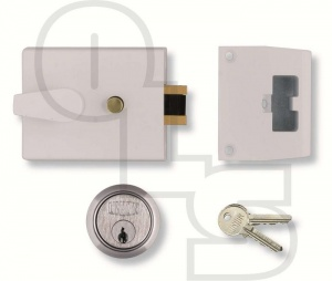 UNION 1038 AUTO DEADLOCKING NIGHTLATCH WITH 60mm BACKSET
