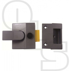 YALE STYLE BUDGET DEADLOCKING NIGHTLATCH WITH 40mm BACKSET