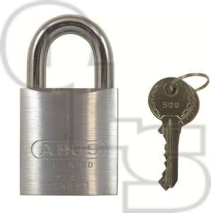 ABUS 83/50 SERIES STANDARD SHACKLE STEEL PADLOCKS