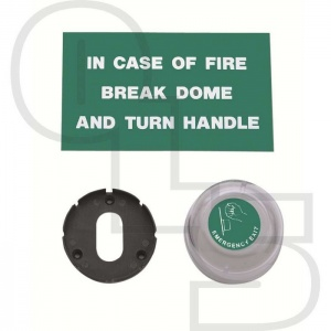 UNION 8071 ESCAPE EMERGENCY EXIT CYLINDER COVER