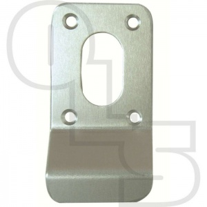 SQUARE SCREW ON OVAL KEYHOLE FINGER PULL