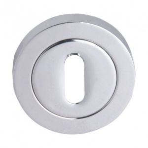 ROUND CONCEALED FIXING UK KEYHOLE ESCUTCHEON