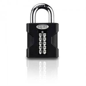 SQUIRE STRONGHOLD HIGH SECURITY OPEN SHACKLE COMBINATION PADLOCK