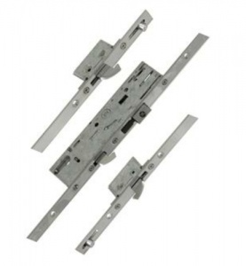 Yale YS170 Multipoint Lock - 3 Hooks and 2 Rollers - Flat 16mm x 2200mm Faceplate - 35mm Backset