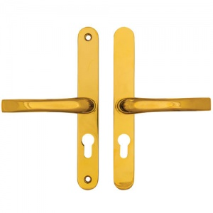 EASYFIT UPVC/MULTIPOINT DOOR HANDLE - 48mm CENTRES - 200mm SCREW CENTRES