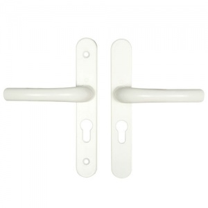 HOPPE UPVC/MULTIPOINT DOOR HANDLE - 48mm CENTRES - 160mm SCREW CENTRES