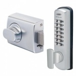 LOCKWOOD DGT002 SURFACE RIM NIGHTLATCH DIGITAL LOCK