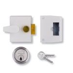 UNION 1047 DEADLOCKING NIGHTLATCH WITH 40mm BACKSET