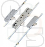 KFV Multipoint Lock - 2 Hooks and 2 Rollers - 35mm Backset (Split Spindle)
