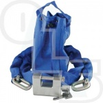 ASEC SLIDING SHACKLE PADLOCK & CHAIN SET