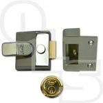 ASEC AS15 DEADLOCKING NIGHTLATCH - 40mm BACKSET