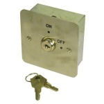 ASEC KS-001 1-GANG ON/OFF KEY SWITCH