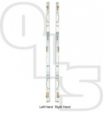 Avocet Full length Keep for 2 Hook and 2 Roller locks (Narrow roller silver version)