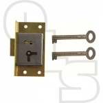 D14 1 LEVER CUT CUPBOARD LOCK