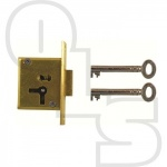 D18 4 LEVER MORTICE CUPBOARD LOCK