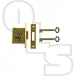 D19 2 LEVER MORTICE CUPBOARD LOCK