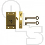 D21 2 LEVER CUT SLIDING DOOR LOCK