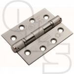 EUROSPEC DOUBLE BALL BEARING BS EN GRADE 13 PREMIUM EXTERIOR HINGE 76MM