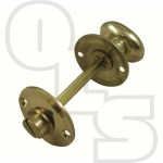 MORTICE DOOR BOLT BATHROOM OVAL THUMBTURN