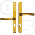 EASYFIT OFFSET UPVC/MULTIPOINT DOOR HANDLE - 48mm/87mm CENTRES - 240mm SCREW CENTRES
