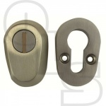 WALSALL A1200 EURO SECURITY ESCUTCHEONS - 20mm FIXING CENTERS
