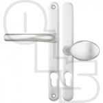 HOPPE TOKYO UPVC/MULTIPOINT DOOR HANDLE - SPRUNG - LEVER/MOVEABLE PAD