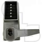 KABA SIMPLEX/UNICAN LL1021 SERIES MORTICE LATCH DIGITAL LOCK WITH LEVER HANDLES AND KEY OVERRIDE