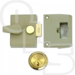 UNION STANDARD CYLINDER NIGHTLATCH WITH 40mm BACKSET