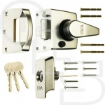 ERA  1530 HIGH SECURITY KEYLESS ESCAPE NIGHTLATCH WITH 40mm BACKSET