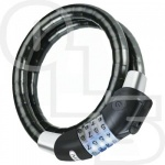ABUS 1400 Raydo Illuminated Combination 20mm x 85cm Cable Lock