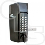 BORG BL3130 KNOB OPERATED METAL GATE DOUBLE DIGITAL LOCK