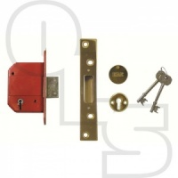 ERA HIGH SECURITY FORTRESS BRITISH STANDARD 5-LEVER DEADLOCK