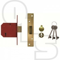 UNION 2134E BRITISH STANDARD 5 LEVER  DEADLOCK