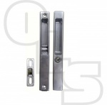 Building Profiles Flush Fit Patio Door Lockset