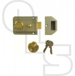 UNION 1022 TRADITIONAL NIGHTLATCH WITH 60mm BACKSET