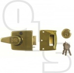 ERA  193 DOUBLE LOCKING NIGHTLATCHES WITH 60mm BACKSET
