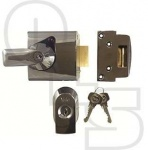 YALE PBS1 HIGH SECURITY NIGHTLATCH - 60mm BACKSET