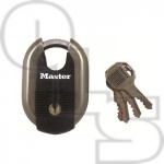 MASTER 187 EXCELL SERIES WEATHER TOUGH CLOSE SHACKLE PADLOCK