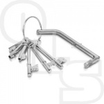 WALLSALL FIRE BRIGADE KEY SET